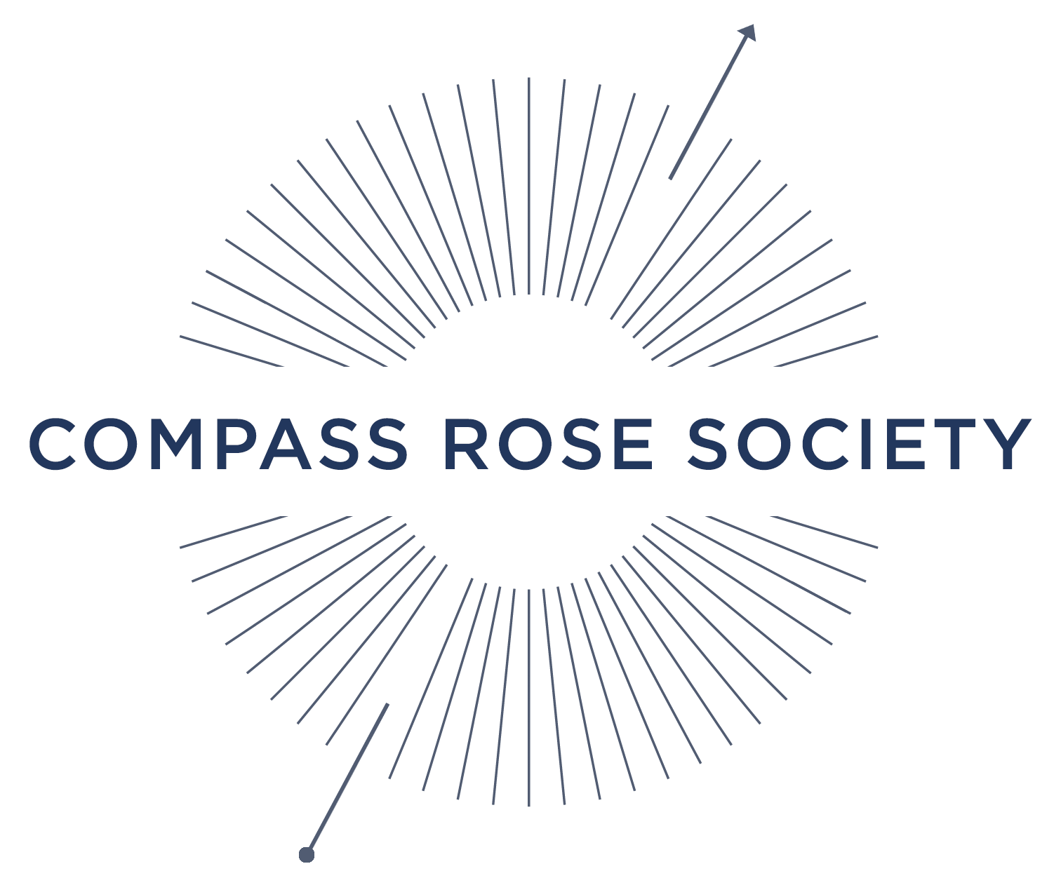 Compass Rose Society logo.