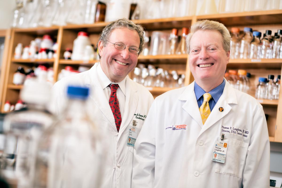 Brian Annex, MD and Tom Loughran, MD stand side-by-side