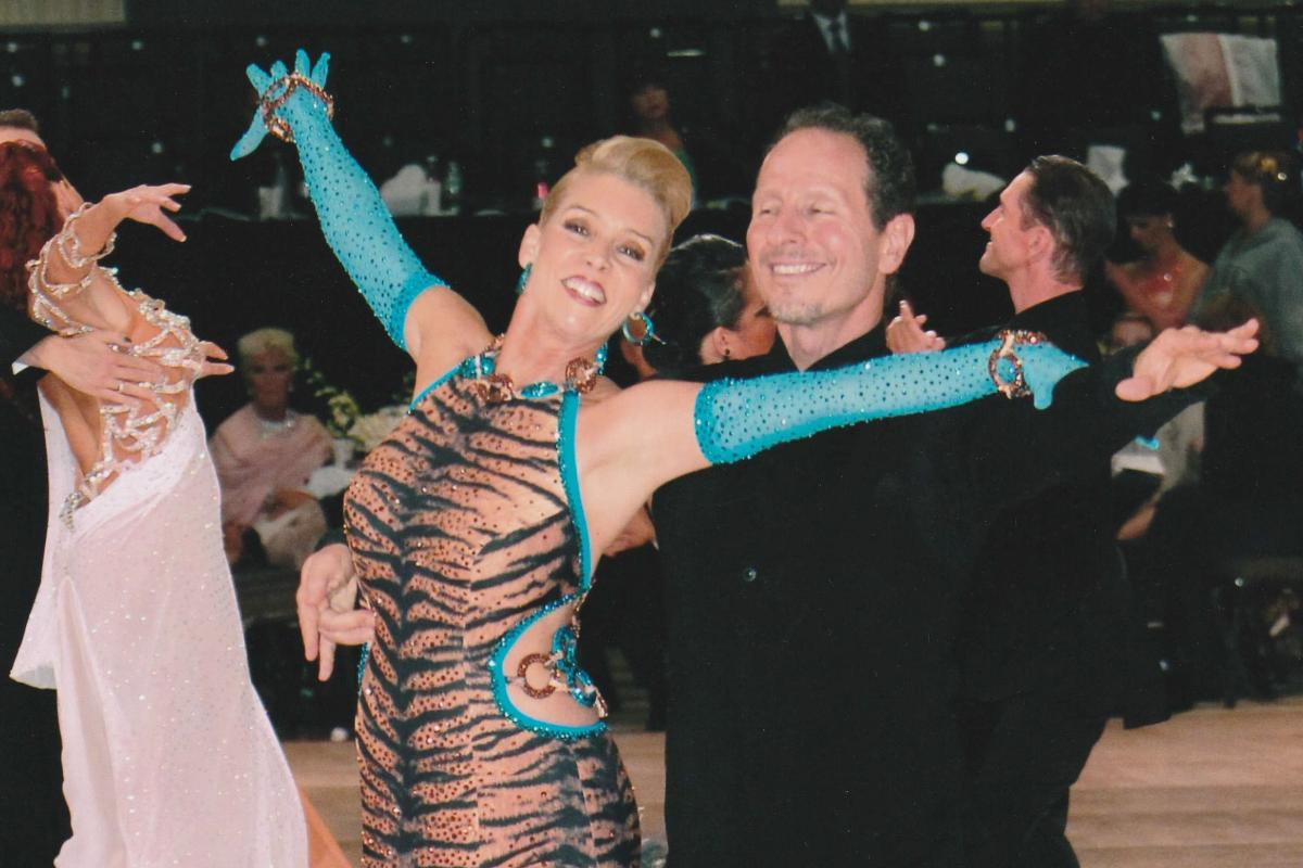 Darla Davies, a successful realtor and renowned ballroom dancer, will create the Darla Davies Fund for Cancer Research.